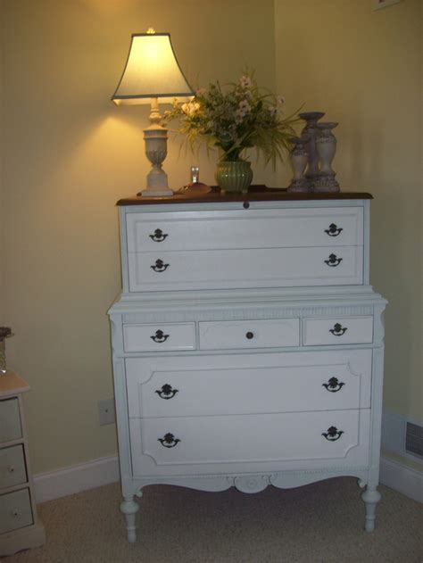 Two Tone Painted Dresser by Painted Two Tone Dresser Home Ideas