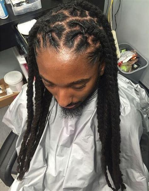 loc style ideas for men mens hairstyles dmvbs hair on pinterest dreadlock styles