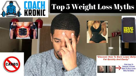 5 weight loss myths tip tuesdays with karon hawkins 2 top 5 myths