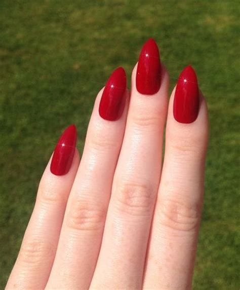 short red coffin nails prettyprettyfingers pinterest stiletto red nails pictures photos and images for