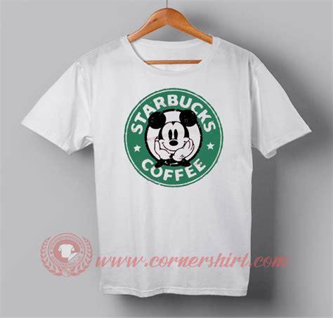 Tshirt Mickey 07 Xl From Ordinal Apparel mickey mouse starbucks coffee custom design t shirts custom design shirts