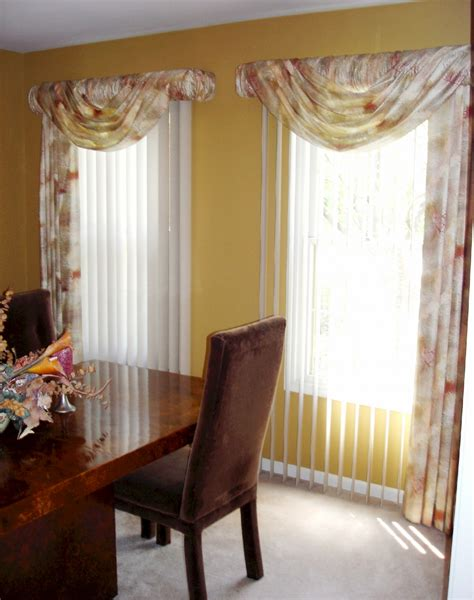 blinds and curtain ideas soften up those vertical blinds 187 susan s designs