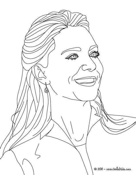 realistic person coloring page kate coloring pages hellokids com