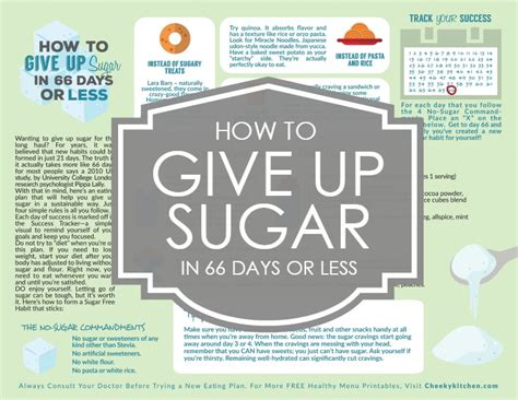 How To Detox In Less Than A Week by How To Give Up Sugar In 66 Days Or Less Healthy