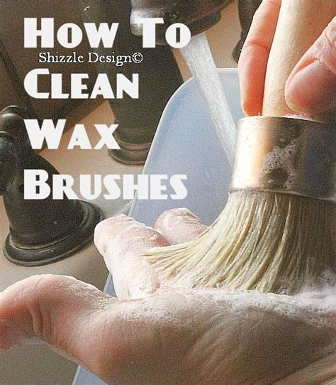chalkboard paint how to clean a bit o shizzle how to clean your wax brushes