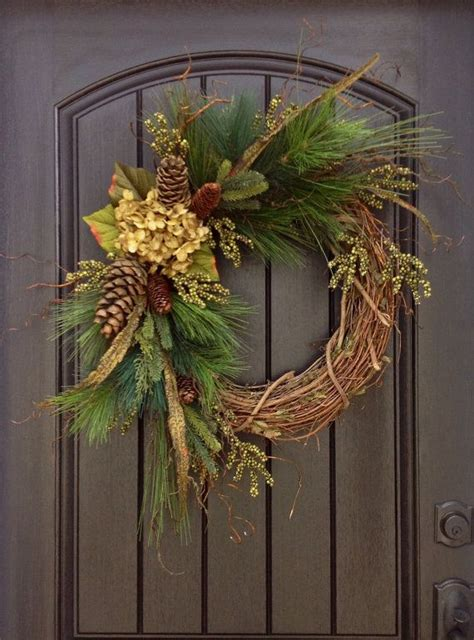 grapevine floral design home decor the 17 best ideas about winter christmas on pinterest xmas