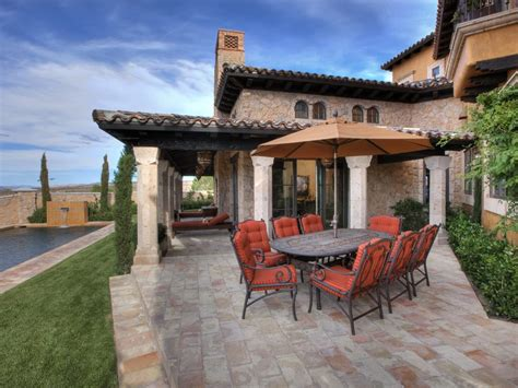 italian backyard design photo page hgtv