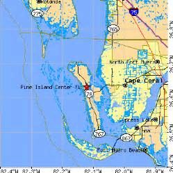 pine island center florida fl population data races
