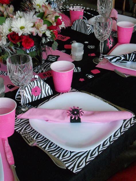 table setting  grandmas fabulous  birthday party party fun grandma birthday