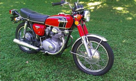 1972 honda cb350 k4 excellent condition for sale on 2040 motos
