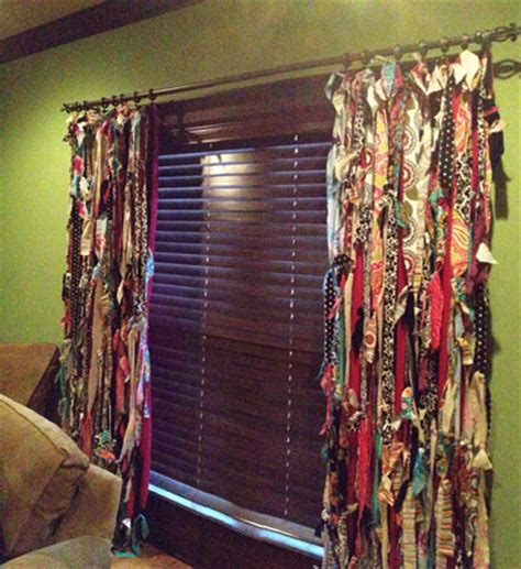 diy curtains from fabric fabric scrap diy projects step by step instructions