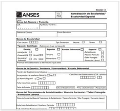 formularios progresar acreditacion asignaci 243 n familiar por ayuda escolar anual desde ayer