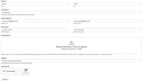 user registration form template user registration form template formidable forms