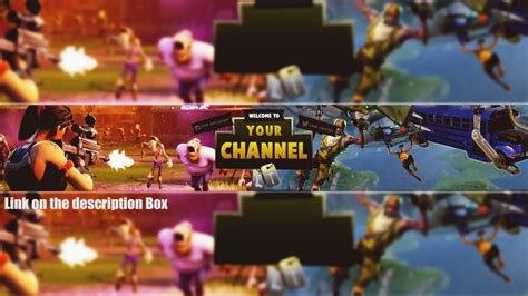 fortnite youtuber names best fortnite banner template banner