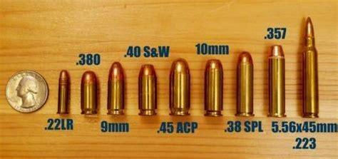 handgun bullet caliber chart image bullet caliber chart