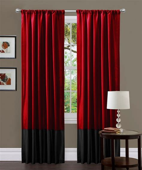 red curtain panel best 25 red curtains ideas on pinterest red decor