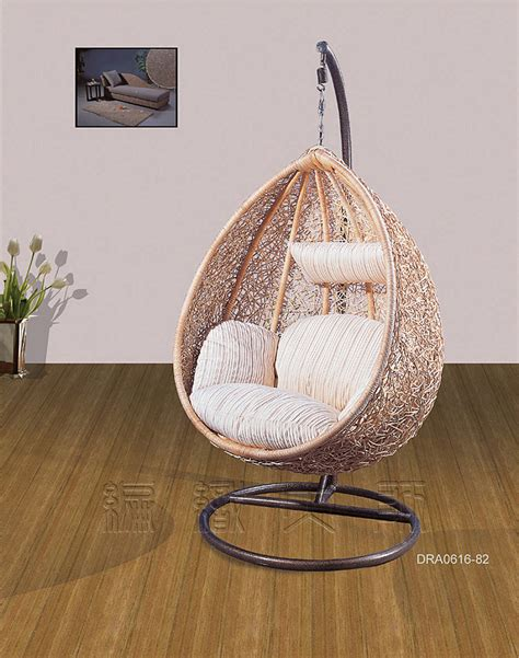 hanging basket chair indonesia s natural woven rattan furniture outdoor indoor