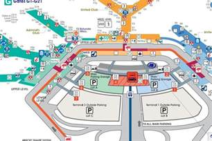 Chicago Ohare Gate Map by Where To Eat At O Hare International Airport Ord Eater