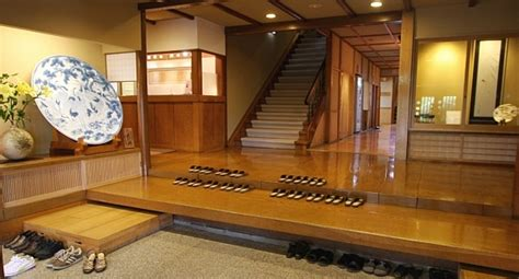japanese foyer how to stay at a ryokan arrival