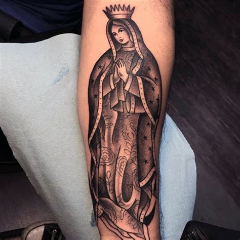 50 Guadalupe Tattoo Designs For Men Blessed Virgin Mary Bob Tattoos Our Guadalupe