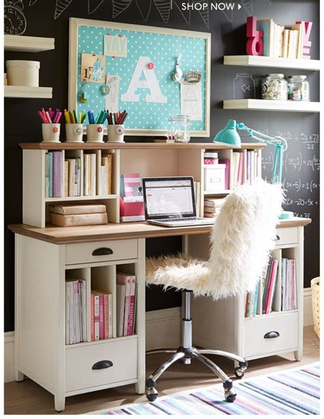 girls bedroom desks 1000 images about beauty on pinterest chairs pb teen