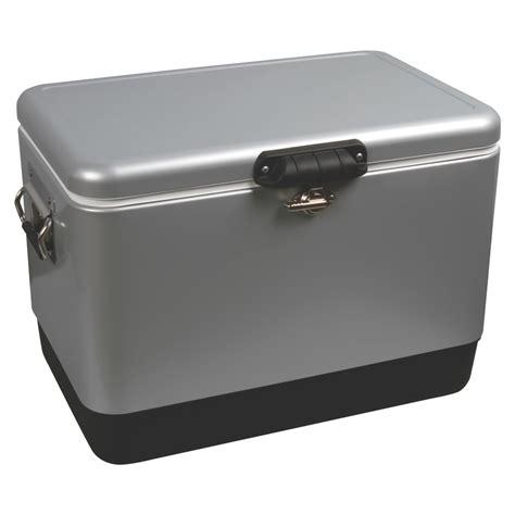 coleman 54 quart steel cooler 54 quart steel belted 174 cooler coleman