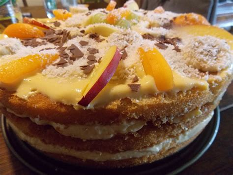 quark pudding kuchen dessert kuchen torte aus quark joghurt und obst auf 3