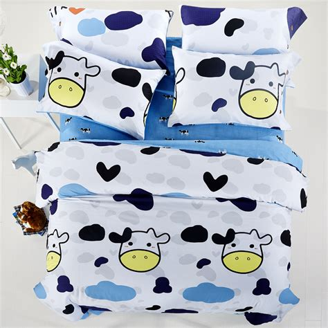 cow print bedding popular cow print bedding buy cheap cow print bedding lots