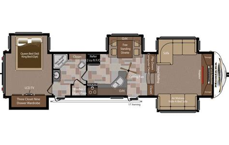 montana fifth wheel floor plans 2014 keystone montana 3750fl fifth wheel east greenwich
