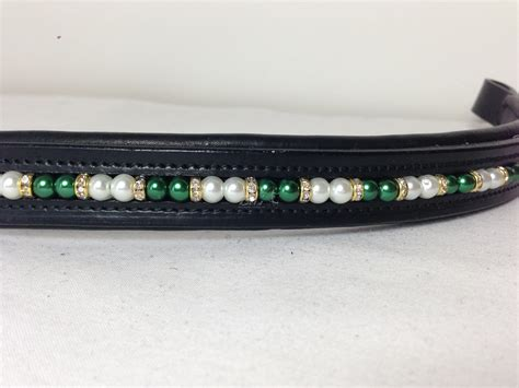 beaded browbands pearl beaded browband bex s browbands and collars