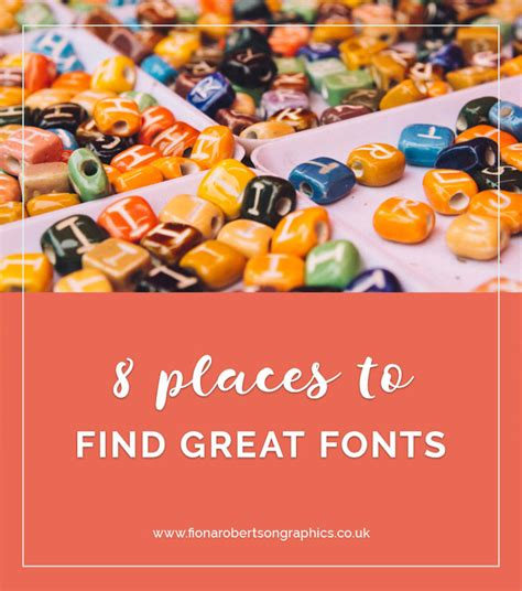 8 Places To Meet by 8 Places To Find Great Fonts Fiona Robertson Graphics