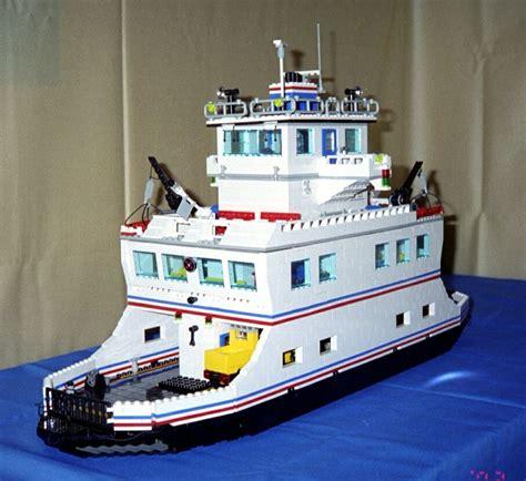 lego boat car car ferry downloadable lego instructions lions gate models