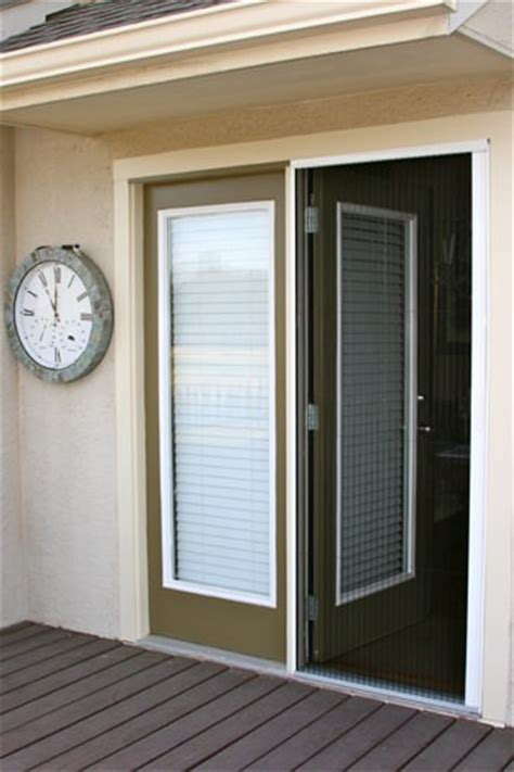Atrium Patio Doors Plisse Atrium Door Retractable Screens Retractable Screens For Doors Windows