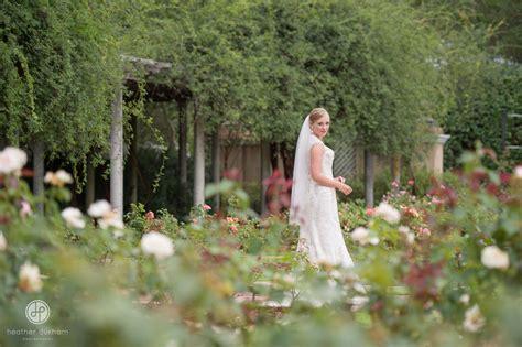 Birmingham Botanical Gardens Wedding Bridal Sessions