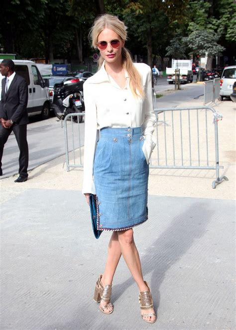9 classic and denim skirt looks for all styles