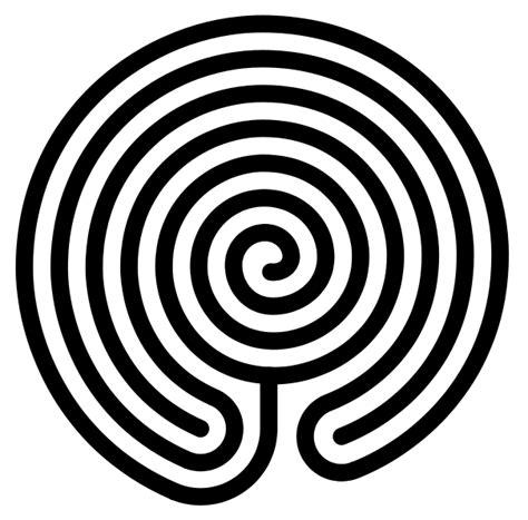 Labyrinth Outline by File Chakravyuha Labyrinth Svg Wikimedia Commons