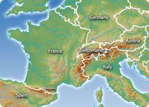 Alps Mountains On World Map by St Margaret S Academy Geography Blog Gcse Fold Mountains