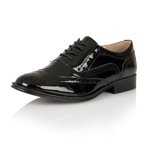 womens casual oxford shoes lace up brogue shoes womens flat oxford smart work