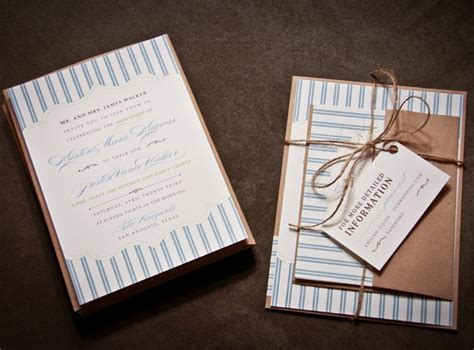 handmade wedding stationery decor using kraft paper etsy