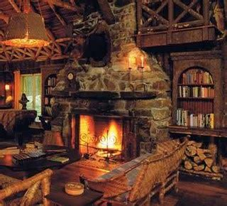 cabin fireplace home sweet home