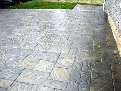brick paver patios emsco brick pattern resin
