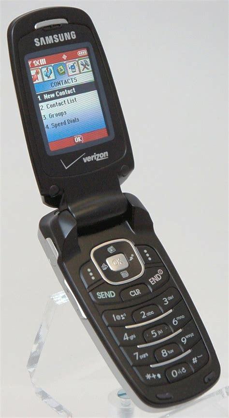 samsung sch  siren cdma verizon flip cell phone