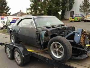 Used Pontiac 400 Engine For Sale Sell Used 1967 Pontiac Firebird 400 Ram Air Project Car