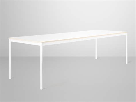White Table L Base Buy The Muuto Base Dining Table White At Nest Co Uk