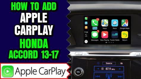 apple carplay honda accord add apple carplay android auto  honda accord   hdmi input