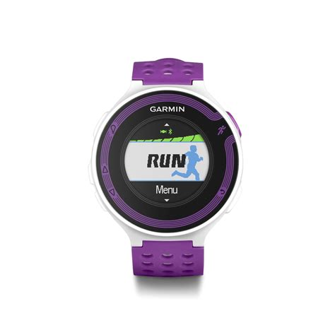 garmin forerunner 220 white violet gps speed distance