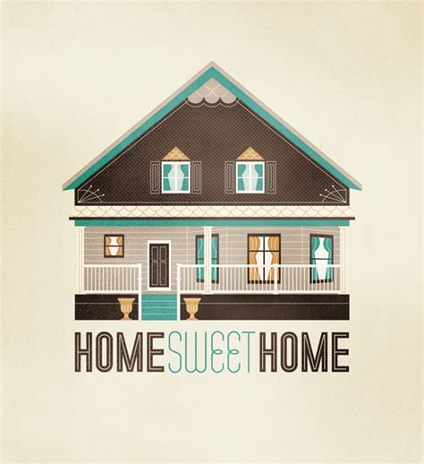 home sweet home on behance