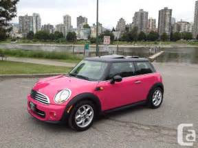 Mini Cooper Pink For Sale Pink Mini Cooper Brand New Only Carlo Mini