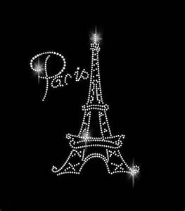 Must Have Household Items rhinestone transfer rhinestone paris rhinestone eiffel