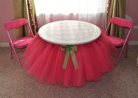 Diy Table And Bed Tutu by Diy Tutu Table Gorgeous Decorating Idea For Your